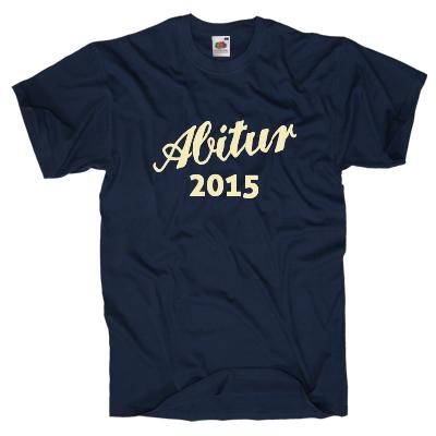 Abitur 2015 Shirt online mit dem Shirtdesigner gestalten
