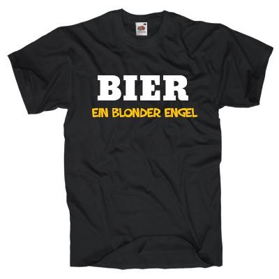 Bier, ein blonder Engel Shirt gestalten