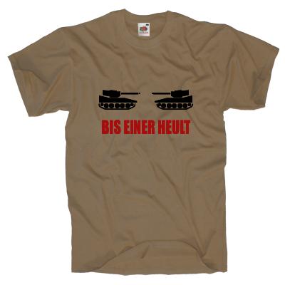 Bis einer heult T-Shirt Shirt online mit dem Shirtdesigner gestalten