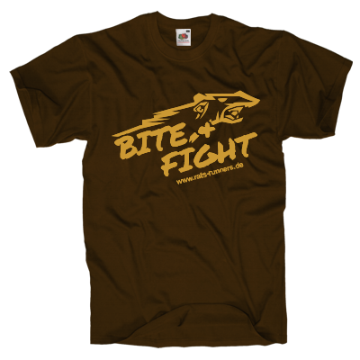 Bite and fight Shirt Shirt online mit dem Shirtdesigner gestalten