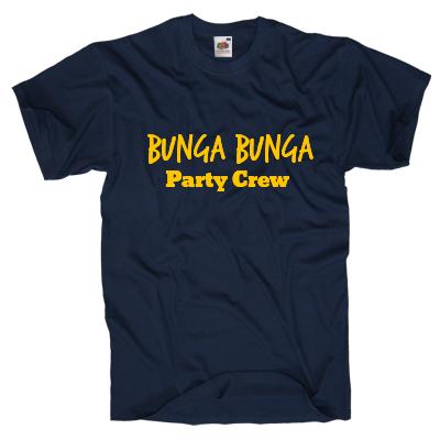 Bunga Bunga Party Crew Shirt gestalten