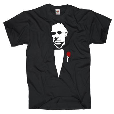 Don Vito Corleone T-Shirt Shirt online mit dem Shirtdesigner gestalten
