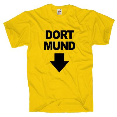 Dortmund T-Shirt Shirt online mit dem Shirtdesigner gestalten