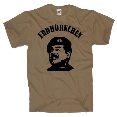 Erdhörnchen Saddam Shirt Shirt online mit dem Shirtdesigner gestalten