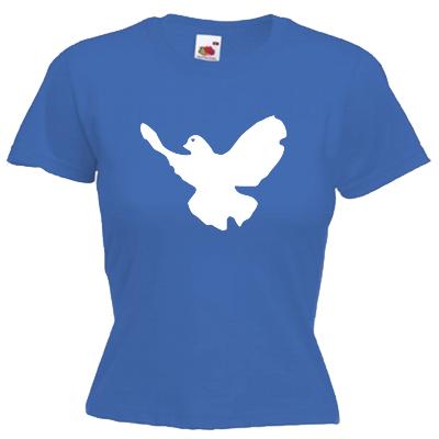 Friedenstaube T-Shirt Shirt online mit dem Shirtdesigner gestalten