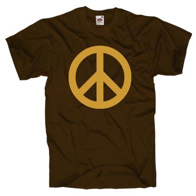 Friedenszeichen Shirt Shirt online mit dem Shirtdesigner gestalten