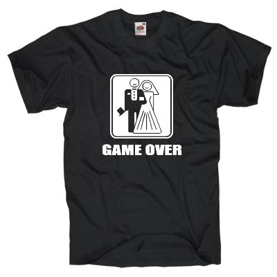 GAME OVER T-Shirt Shirt online mit dem Shirtdesigner gestalten