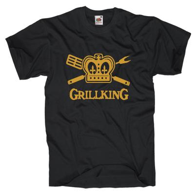 Grillking T-Shirt Shirt online mit dem Shirtdesigner gestalten