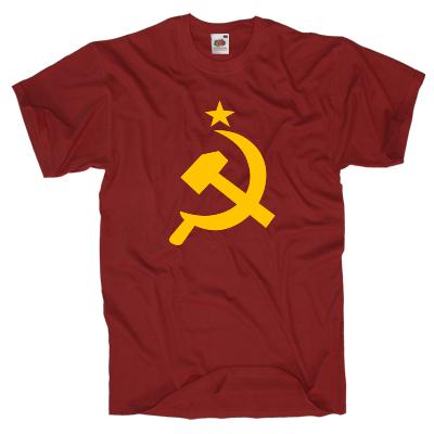 Hammer-Sichel T-Shirt Shirt online mit dem Shirtdesigner gestalten