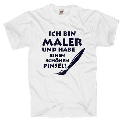 Ich bin Maler T-Shirt Shirt online mit dem Shirtdesigner gestalten