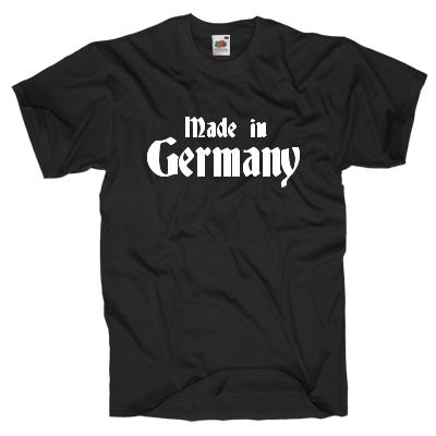 Made in Germany Shirt online mit dem Shirtdesigner gestalten