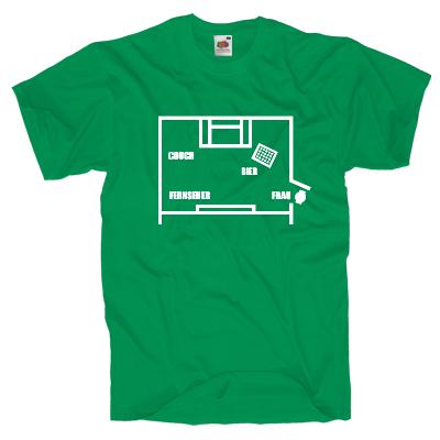 Mannschaftsaufstellung Shirt online mit dem Shirtdesigner gestalten