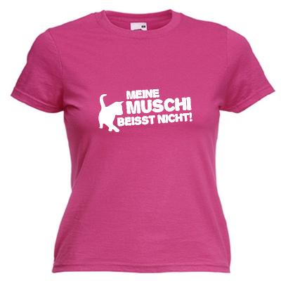 Meine Muschi beisst nicht Shirt online mit dem Shirtdesigner gestalten