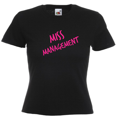 Miss Management Shirt gestalten