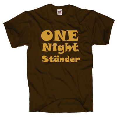 One Night T-Shirt Shirt online mit dem Shirtdesigner gestalten