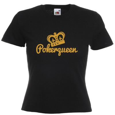 Pokerqueen T-Shirt Shirt online mit dem Shirtdesigner gestalten