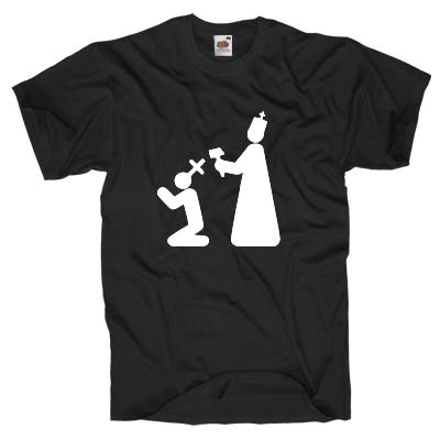 Prügel für den Glauben Shirt online mit dem Shirtdesigner gestalten