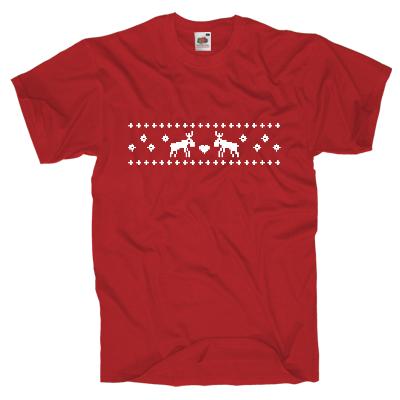 Rentier Shirt Shirt online mit dem Shirtdesigner gestalten