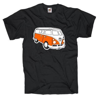Retrovan Shirt online mit dem Shirtdesigner gestalten