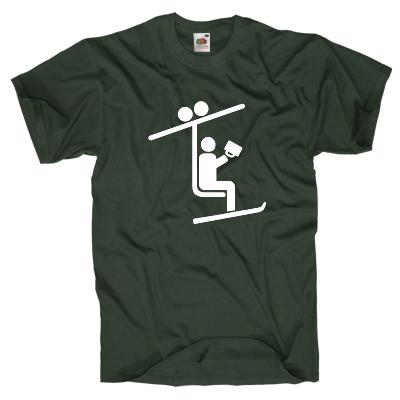Sesselliftfahrer T-Shirt Shirt online mit dem Shirtdesigner gestalten