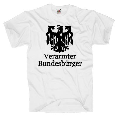 Verarmter Bundesbürger  Shirt online mit dem Shirtdesigner gestalten