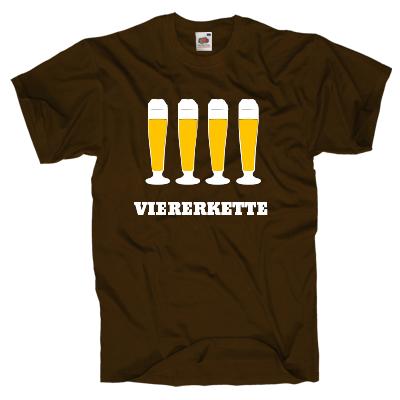 Viererkette Shirt online mit dem Shirtdesigner gestalten