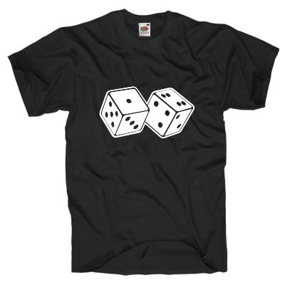 Würfel T-Shirt Shirt online mit dem Shirtdesigner gestalten